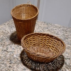 Other - Wicker baskets
